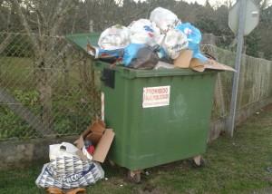 lixo rural