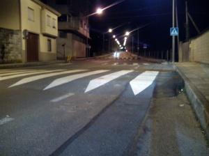 Lombo de burro na Rúa Antón Losada