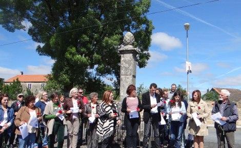 Homenaxe Revolta Labrega de Lagartóns