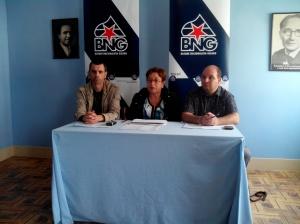 Xosé Magariños, Olaia Fernández Davila e Matías Rodríguez da Torre