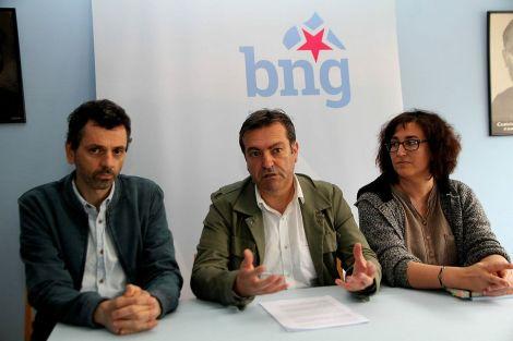 Xosé Magariños, Luís Bará e Susana Camba