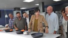 Ana Pontón e Luís Bará na Feira do Moble de Galiza