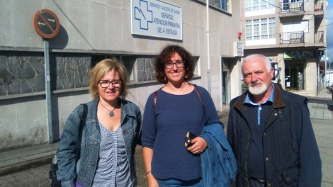 Montse Prado, Susana Camba e Constantino Regueira